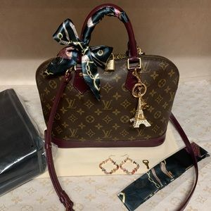 Louis Vuitton Alma Handbag PM💖🌺🌸